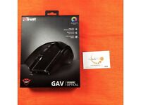 Trust GXT 101 Optical Gaming PC Mouse (Black w/ LED)