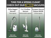 Range of New Vacuum Cleaners / Hoovers - Zanussi, Henry, Hetty etc.