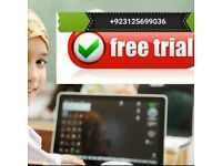 Quran classes for children and adults online via sykpe and whats up 3 days free Trail