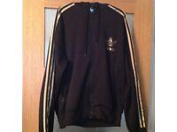 Adidas Hooded Zip Up Jacket