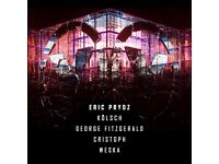 ERIC PRYDZ Epic 5.0 / 2 tickets x £90