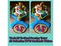 V Tech Sit And Stand Dancing Tower