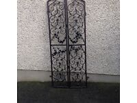 Hand crafted decorative gates for indoor / outdoor use