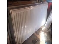 White Radiator 120cm x 60cm brand new condition. Collection only.