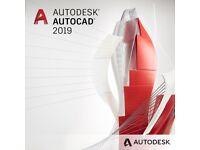 AutoCAD 2019,2018 (PC/MAC) Full Version