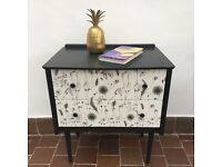 Painted retro Chest of Drawers.