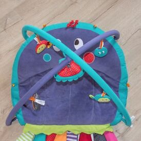 Mamas & papas octopus play mat, tummy time and baby gym