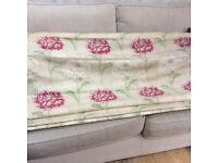 Laura Ashley Roman Blind . Very rare Ruskin Raspberry fabric.