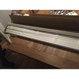 faux wood Venetian blinds true white