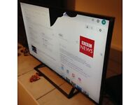 New Sony Bravia 40-inch TV with small screen damage