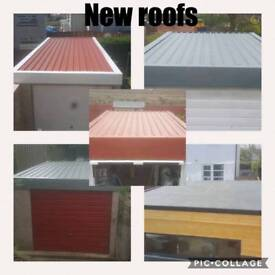garage roof repair. all flat roof and garage problems free quotes any area repair