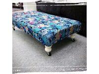 Ottoman Footstool/Coffee Table