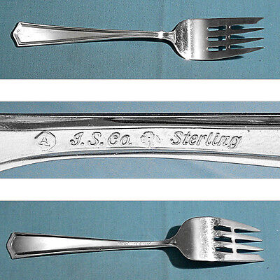 INTERNATIONAL STERLING FISH / SALAD FORK(S) ~ DEERFIELD-BEACON HILL ~ NO MONO
