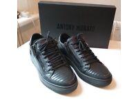 Antony Morato - Zip Sneakers, Black (EU 43 UK 9)