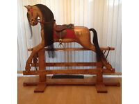 Large Handcrafted Rocking Horse