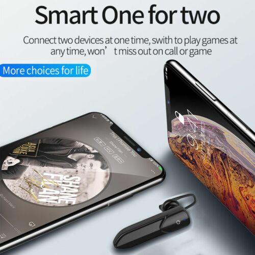 Bluetooth Headset Handsfree Earphone For IPhone Samsung A02s A12 A22 A42 A52 A72 - $13.99