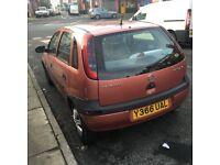 Vauxhall corsa 2001 very cheap £215ono