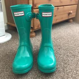 Ladies hunter 3/4 boots (short style)