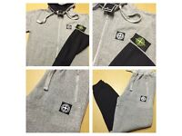 Brand New With Tags Men's S.I Tracksuit Black/Grey Hooded £25