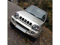 HI SPEC SUZUKI JIMNY 02 JLX 4WD/LOW MILES/BRAND NEW CAMBELT/LONG MOT/ IDEAL SIZE 4WD/LIKE VITARA
