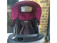 Graco push chair/pram from 6 month onwards forward facing