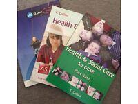 Health & Social Care. (3 Books)