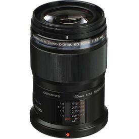 Olympus M. Zukio Digital ED 60mm f2.8 Macro Lens
