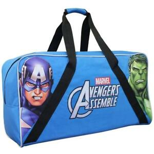 Marvel Avengers Polyester Junior Hockey Bag 28 Inch [ Blue ]