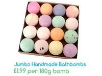 Jumbo Handmade Bath Bombs