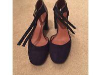 Next Navy Blue Heels