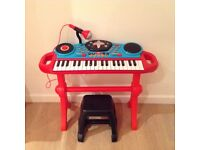 Early Learning Centre Keyboard and Stool