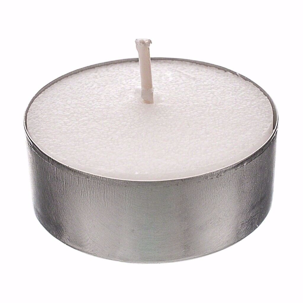 90+ Bolsius Premium White 8 Hour Long Burn Time Bulk Buy Wax Night Tea Light Candles