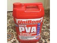 Brand new sealed Unibond super PVA 4Litres