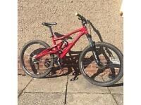 Marin mount vision full suspension mountain bike small