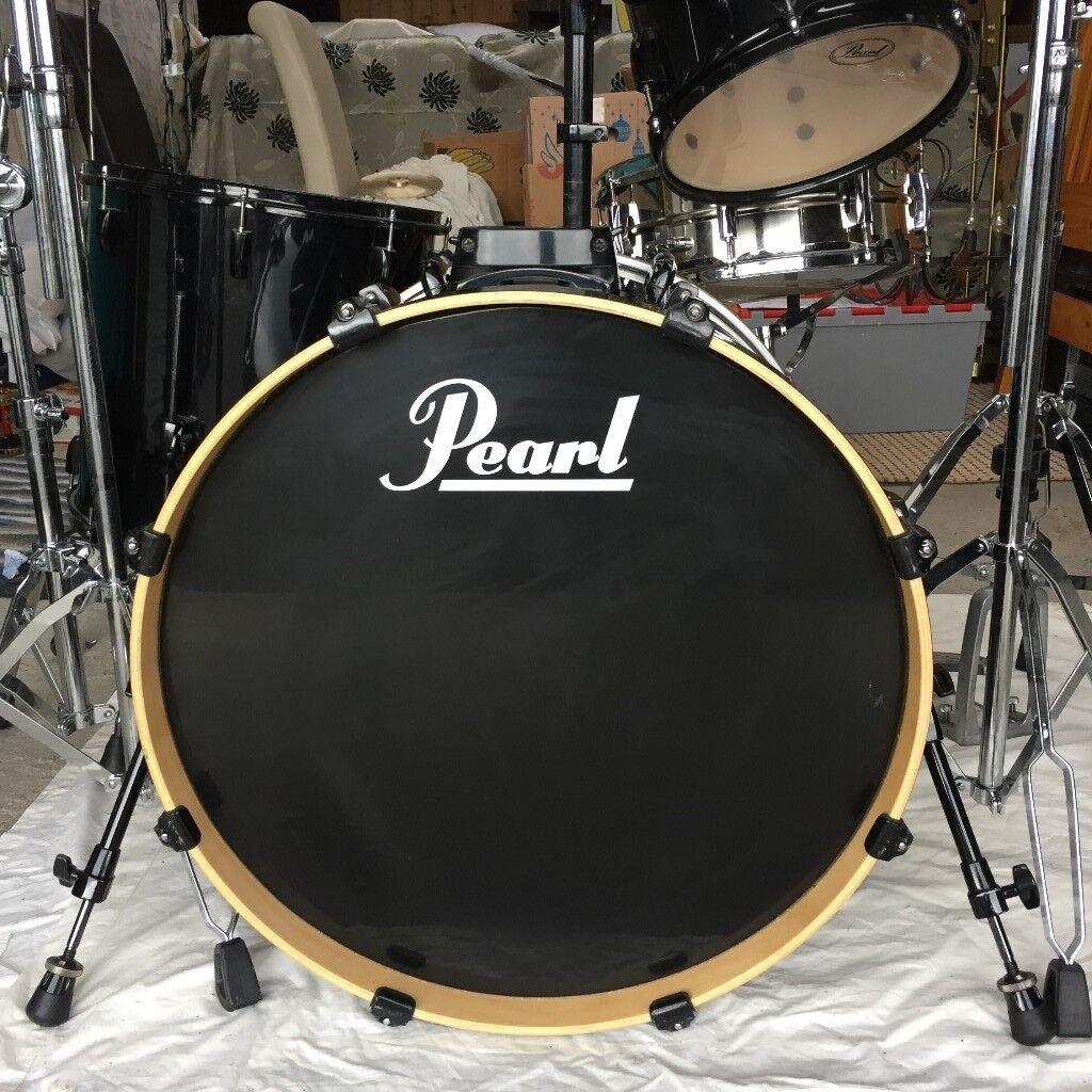 pearl vision drum kit in carrickfergus county antrim gumtree. Black Bedroom Furniture Sets. Home Design Ideas