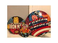 Metal Avengers wall decorations