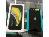 iPhone SE 2020 64GB Vodafone Network Black A