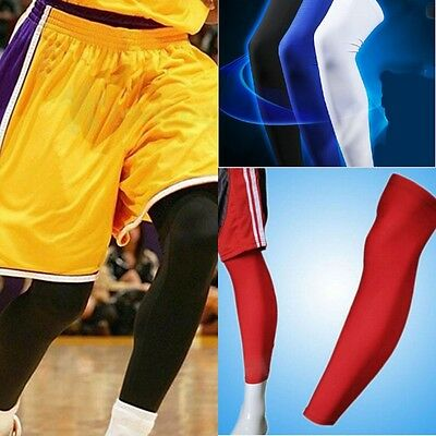 Cooling Sports Cover Leg Knee Protector Gear Basketball Football Long Sleeves