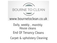 Bourne To Clean 07583344743
