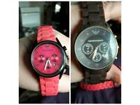 His & hers ARMANI watch