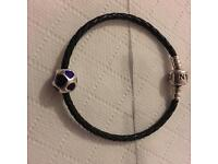 Pandora Purple Hearts charm