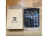 12 Digit Desktop Calculator (Brand New)