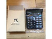12 Digit Desktop Calculator (Brand New)