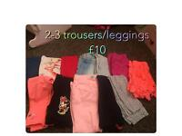 2-3 trousers n t shirts