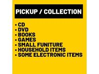 FREE Pickup-WANTED-Books, DVDs, CDs Household items, Furniture