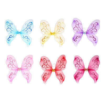 Fairy, and Angel butterfly Wings for Kids fairy princess parties dress up - Butterfly Wings For Kids