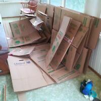 boxes for moving, best offer, any offer