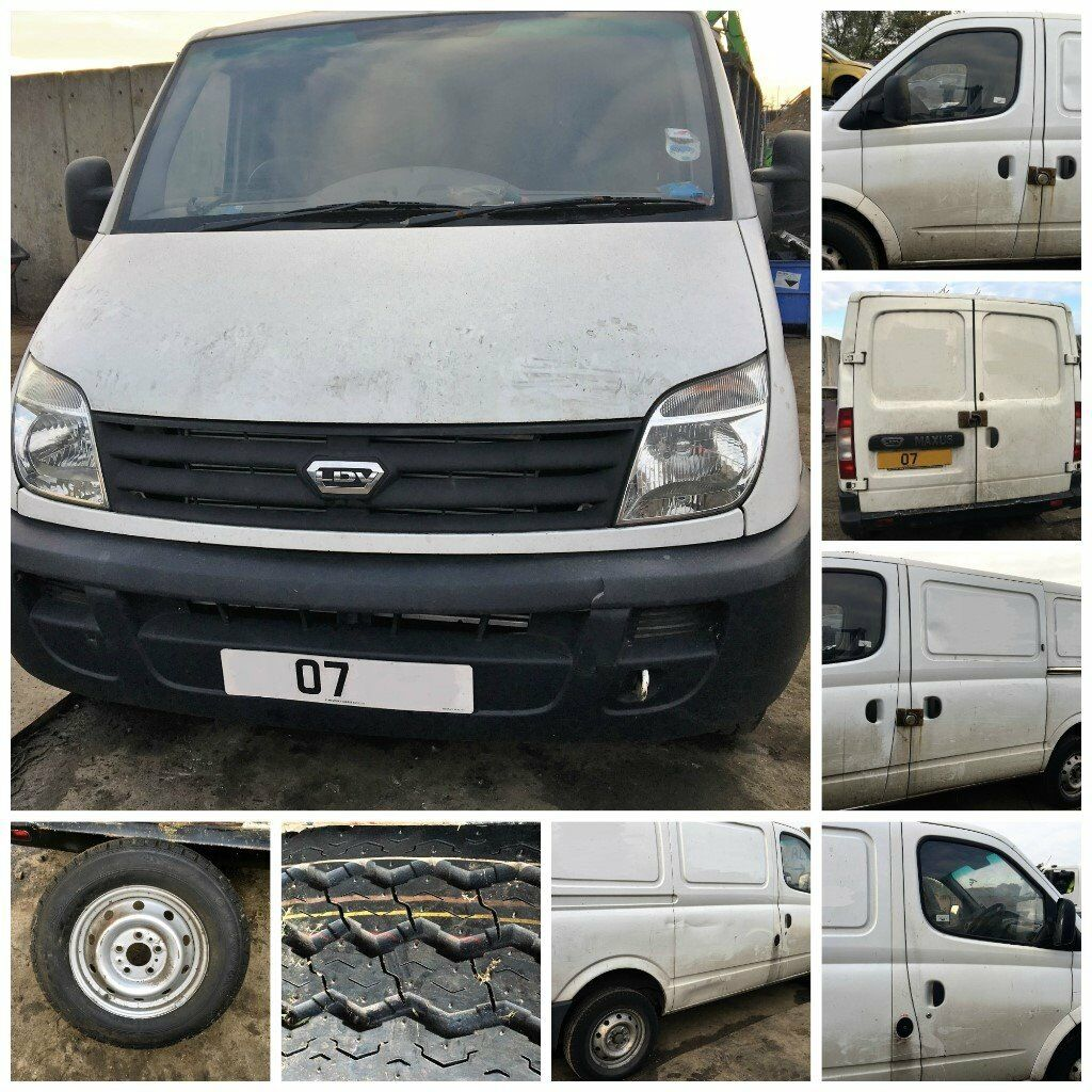 LDV MAXUA 3.2 T 95 SWB VAN WHITE 2007 DIESEL(DOOR) ALL PARTS AVAILABLE