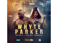 Whyte vs Parker **LESS THAN FACE VALUE**