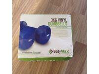 3kg Vinyl Dumbbells